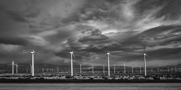 Indio Photograph - Wind by Peter Tellone