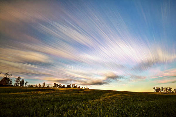 Wall Art - Photograph - Wind Stream Streaks by Matt Molloy
