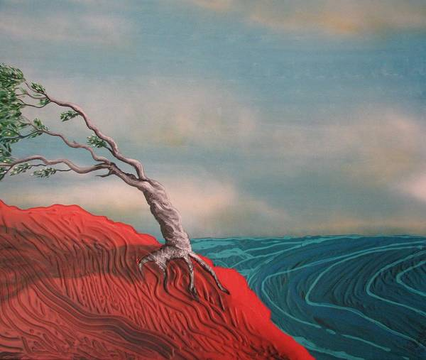 Painting - Wind Swept Tree by Joan Stratton