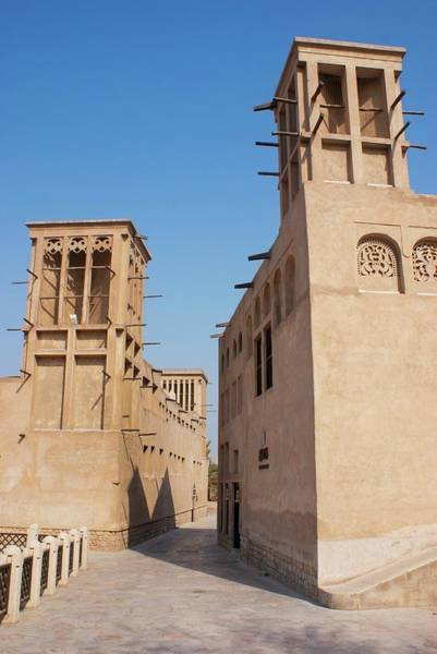 Cooling Tower Photograph - Wind Towers In Dubai Old Town. by Mark Williamson