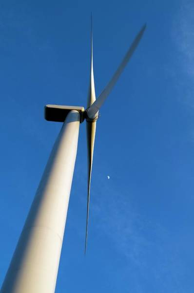 Wall Art - Photograph - Wind Turbine by John Cole/science Photo Library