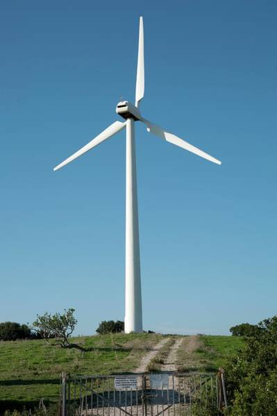 Rotor Photograph - Wind Turbine by Jon Wilson