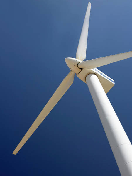Generators Photograph - Wind Turbine by Steve Allen/science Photo Library