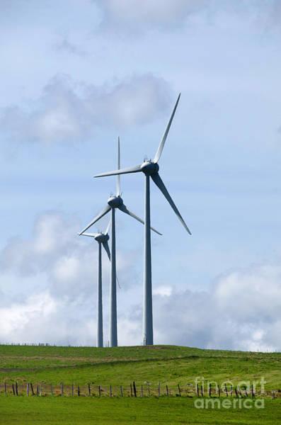 Wind Generator Photograph - Wind Turbines by Bernard Jaubert