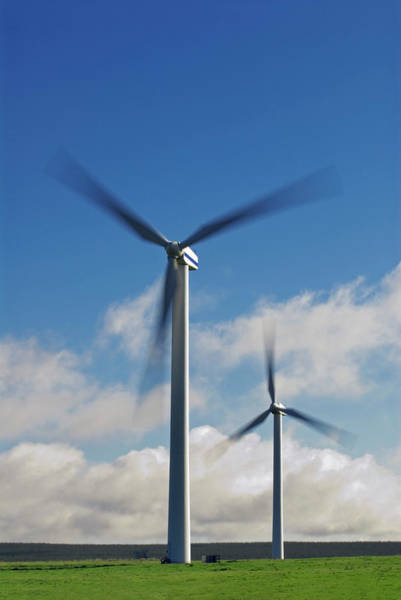 Wall Art - Photograph - Wind Turbines by Simon Fraser/science Photo Library