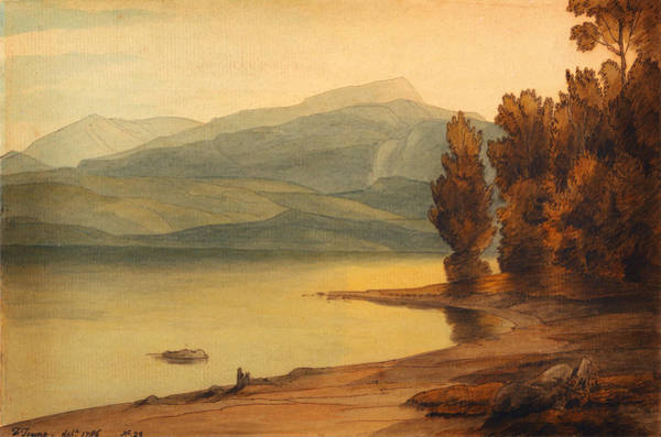 Painting - Windermere At Sunset by Celestial Images