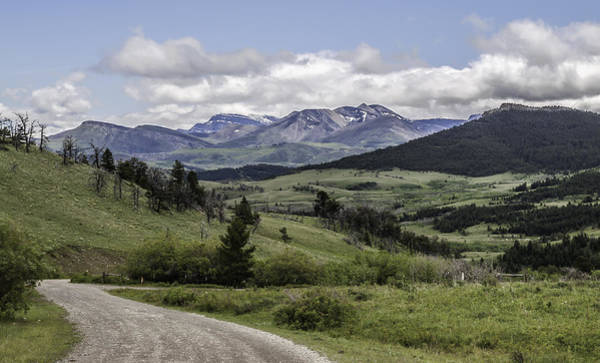 Photograph - Winding Mountain Road by Thomas Young