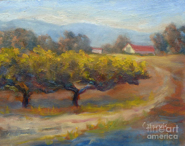 Painting - Winding Road by Carolyn Jarvis