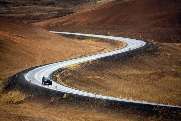 Wall Art - Photograph - Winding Road by Steve Allen/science Photo Library