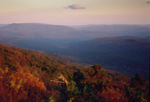 Photograph - Winding Stair Mountain At Last Light by Richard Smith