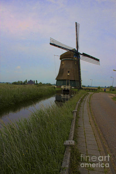 Photograph - Windmill 1 - Amsterdam by Crystal Nederman