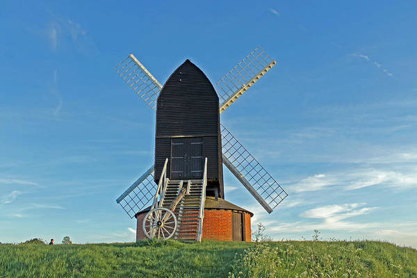 Windmill At Brill Art Print