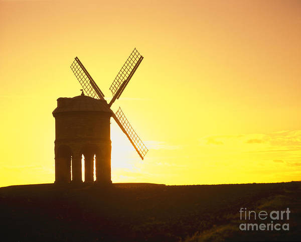 Disappearance Photograph - Windmill At Sunset by Paul Felix