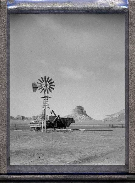 Photograph - Windmill At The Bluffs by HW Kateley