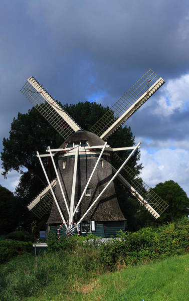 Photograph - Windmill In Dutch Countryside by Aidan Moran