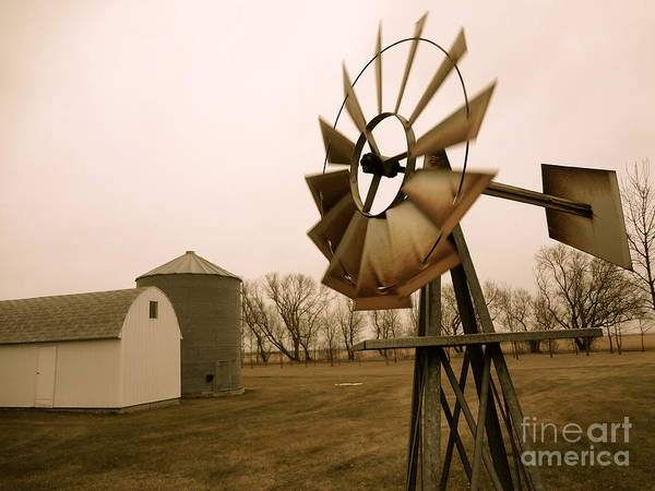 Photograph - Windmill by Jacqueline Athmann