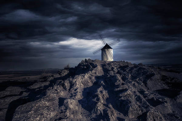 Mills Photograph - Windmill by Jose Garcia