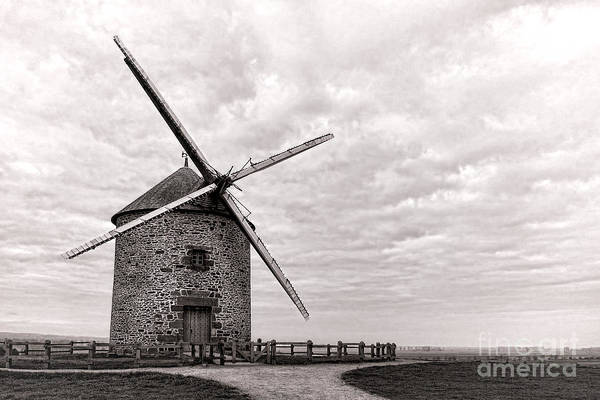 Wall Art - Photograph - Windmill by Olivier Le Queinec