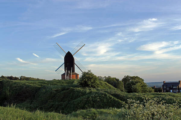 Windmill On Brill Common Art Print