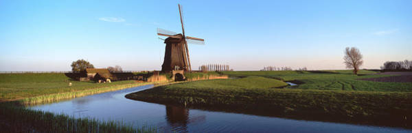 Municipality Photograph - Windmill, Schermerhorn, Netherlands by Panoramic Images