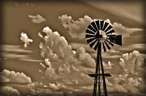Photograph - Windmill by Shane Bechler