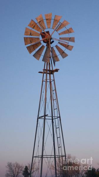 Photograph - Windmill Vertical by Kerri Mortenson
