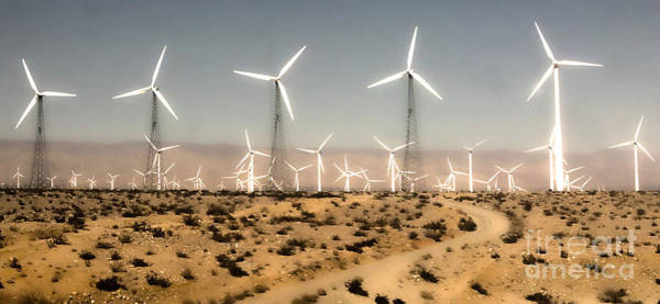 Photograph - Windmills by Gregory Dyer