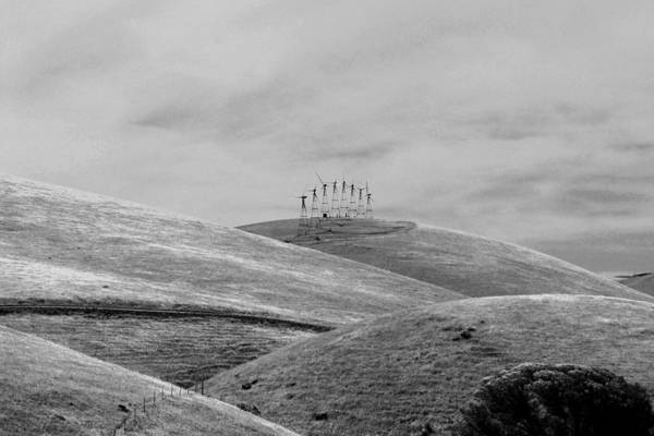 Photograph - Windmills On The Hill by Maggy Marsh