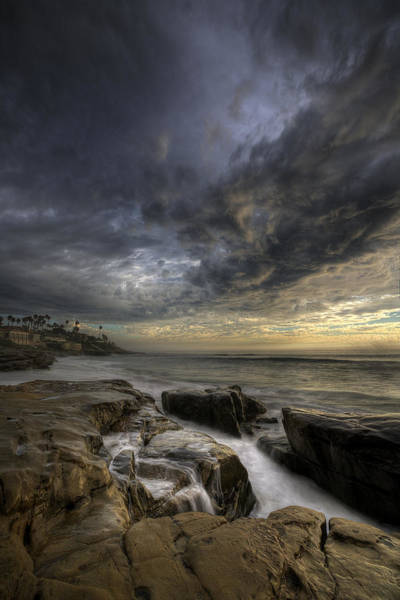 High Dynamic Range Photograph - Windnsea Light Found by Peter Tellone