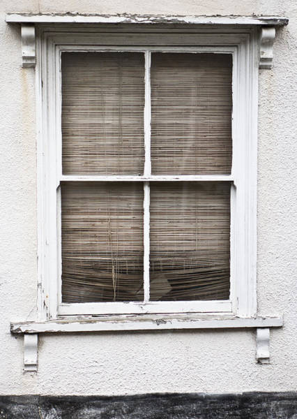 Privacy Photograph - Window And Blind by Tom Gowanlock