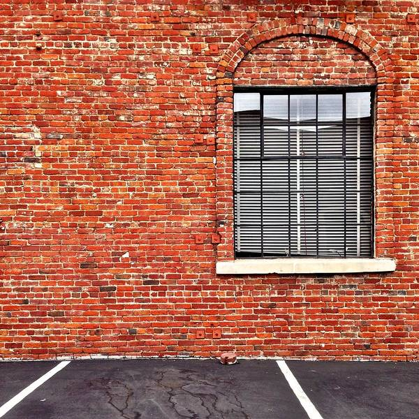 Wall Art - Photograph - Window And Brick by Julie Gebhardt