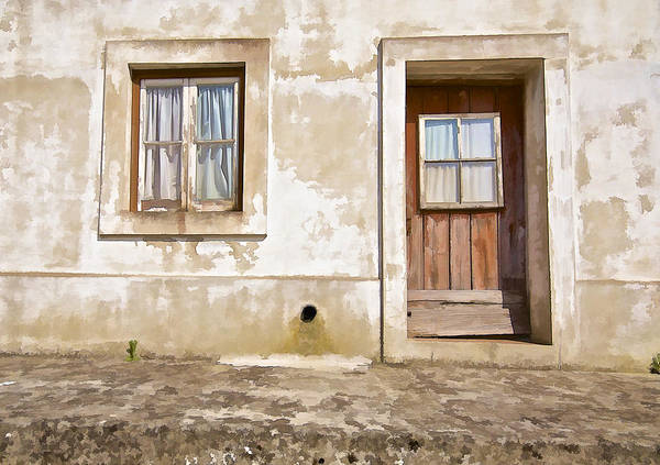 Photograph - Window And Door Of Portugal by David Letts