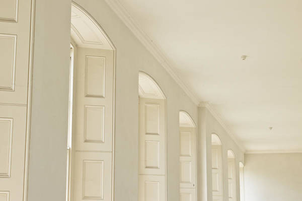 Airy Photograph - Window Arches by Tom Gowanlock