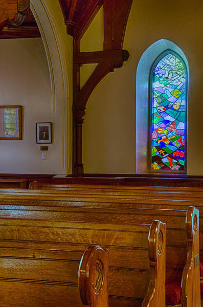 Photograph - Window Behind The Nave by Jennifer Kano