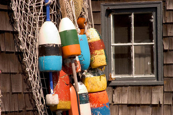 Photograph - Rockport Buoy View by Jeff Folger