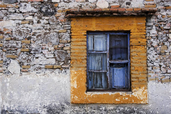 San Miguel De Allende Wall Art - Photograph - Window Detail Mexico by Carol Leigh