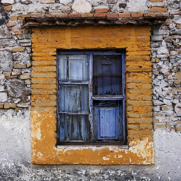 San Miguel De Allende Wall Art - Photograph - Window Detail Mexico Square by Carol Leigh