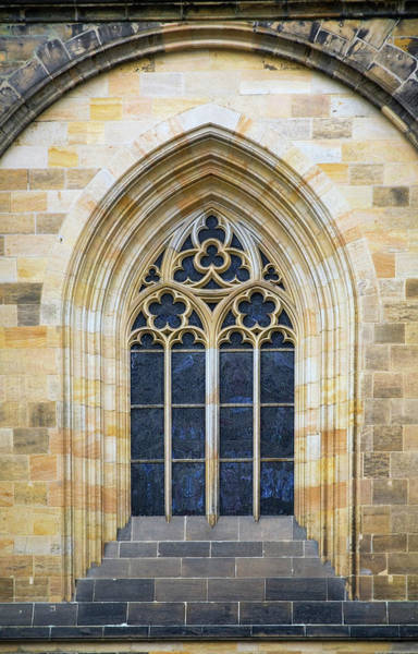 Design Photograph - Window Detail On The 14th Century by Perry Mastrovito / Design Pics