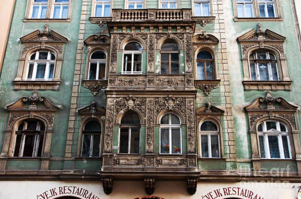 Photograph - Window Dressing In Prague by John Rizzuto
