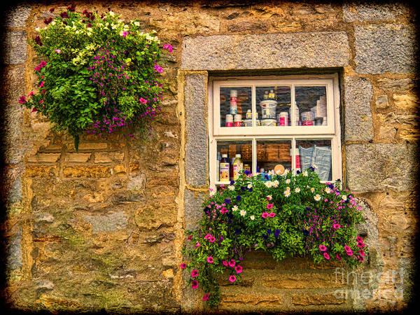 Grassington Photograph - Window In Grassington by Gillian Singleton