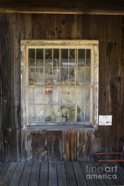 Photograph - Window In Old House With Dolls In Color 3002.02 by M K Miller