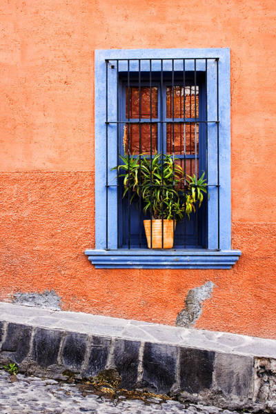 Southwest Photograph - Window In San Miguel De Allende Mexico by Carol Leigh