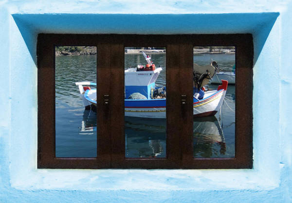Photograph - Window Into Greece 7 by Eric Kempson