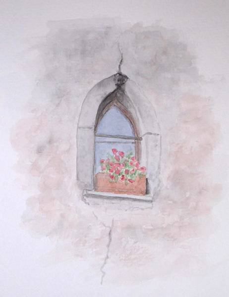 Painting - Window by Karin Thue