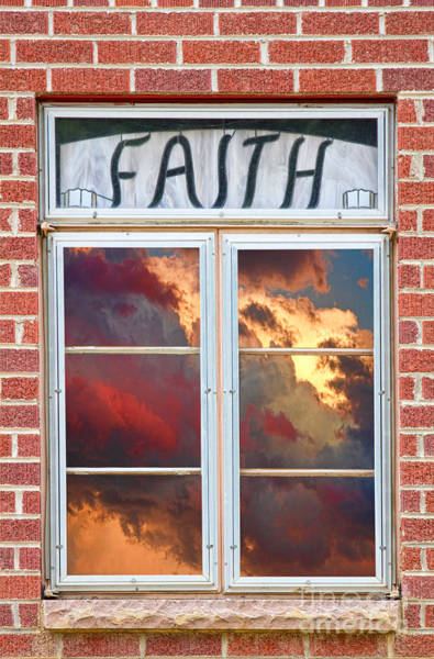 Unframed Wall Art - Photograph - Window Of Faith by James BO Insogna