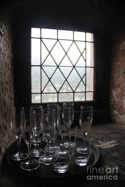 Wall Art - Photograph - Window Of Glasses by Dennis Curry