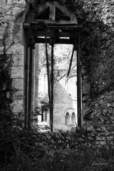 Photograph - Window Of Haunted Abbey by Diana Haronis