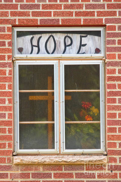 Photograph - Window Of Hope 2 by James BO Insogna