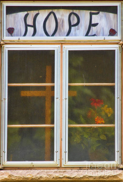 Unframed Wall Art - Photograph - Window Of Hope by James BO Insogna