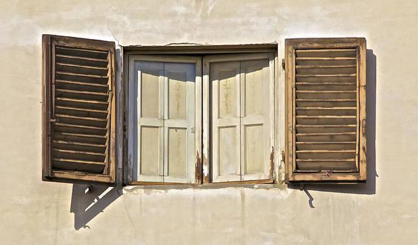 Window Of Tuscany Art Print